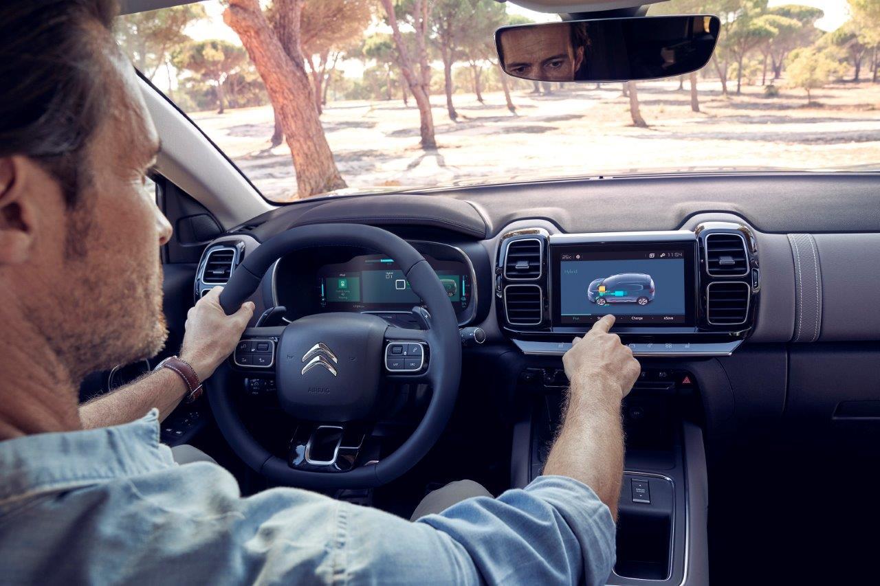 Citroen C5 Aircross Hybrid - Innenraum