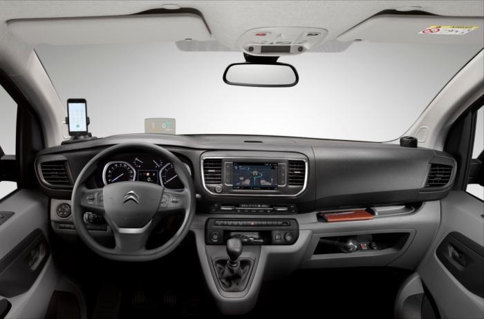 Citroen e-Jumpy Kastenwagen Innenraum